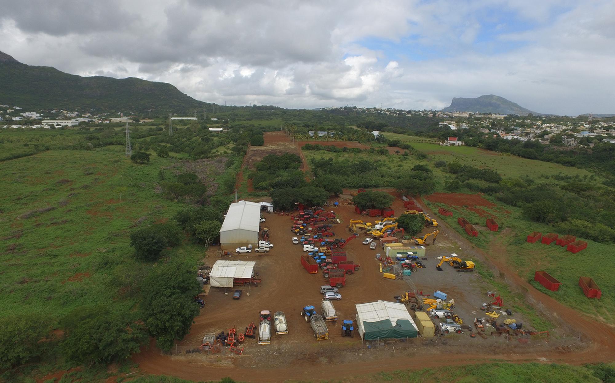 Far Aerial View